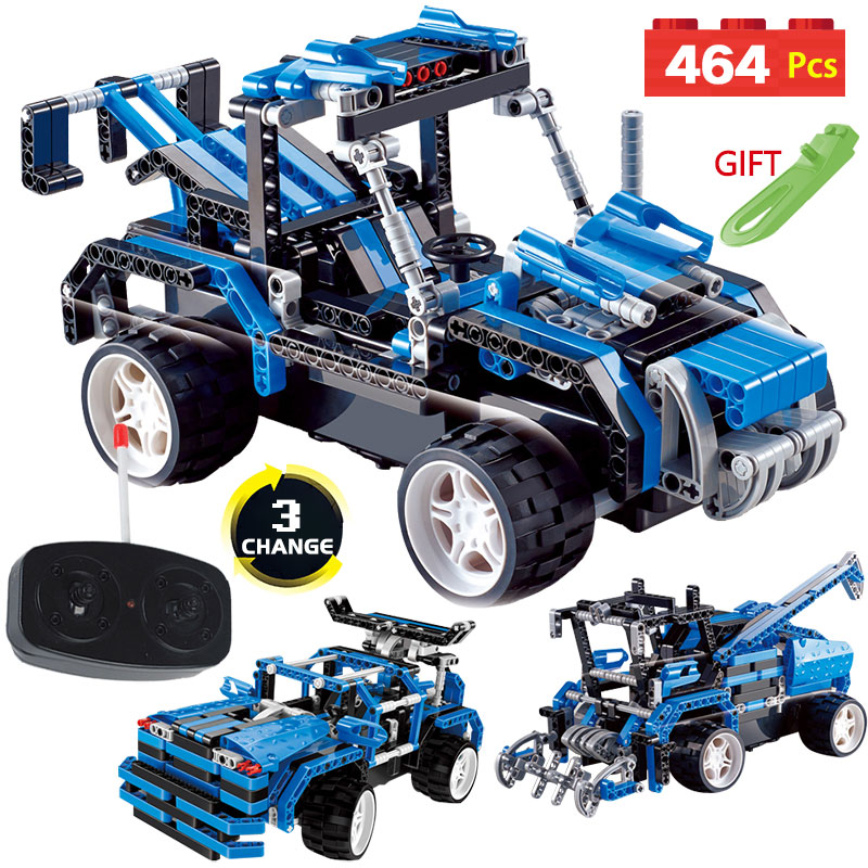 1 Variabl 3 Technic Series Remote Control Blocks RC Simulation Car DIY Toy Compatible LegoINGLYS Vehicle Racing Toy for Children 2 in 1 rc car compatible legoinglys radio technical vehicle green suv control blocks assembled blocks children toys gift