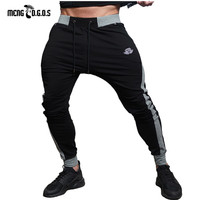 Body Engineers Men S Fitness 2017 New Elastic Body Building Slim Gyms Sweatpants Cotton Aesthetics Fashion