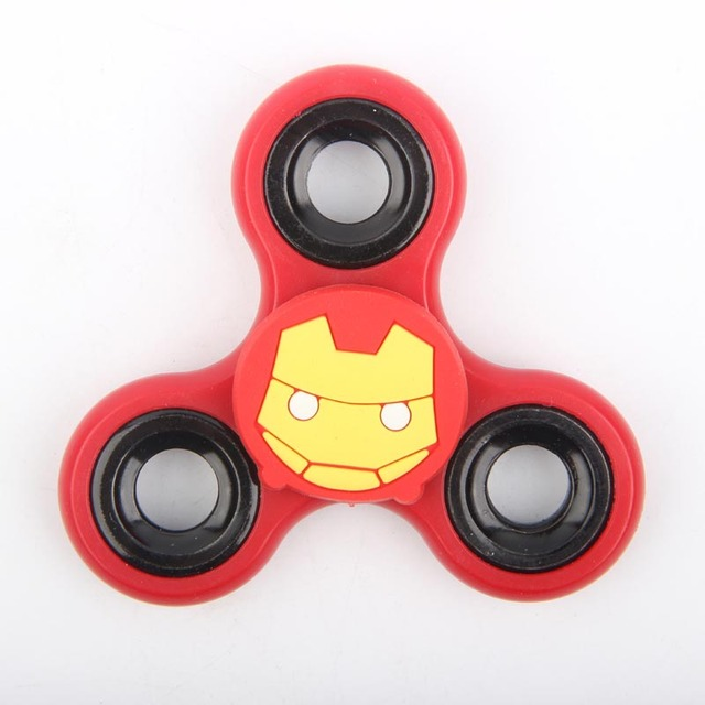 Marvel Series Hand Spinner Batman Captain America Iron Man Anti-Stress Finger SpinnerStress Relief Toy