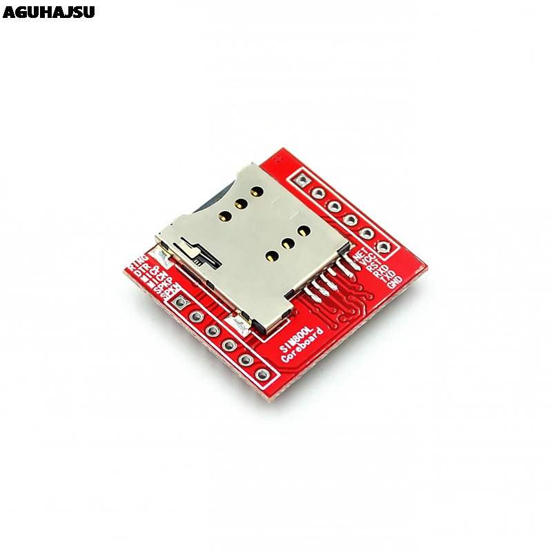 Smallest SIM800L GPRS GSM Module Kit MicroSIM Card Core BOard Quad-band TTL Serial Port with the antenna 4