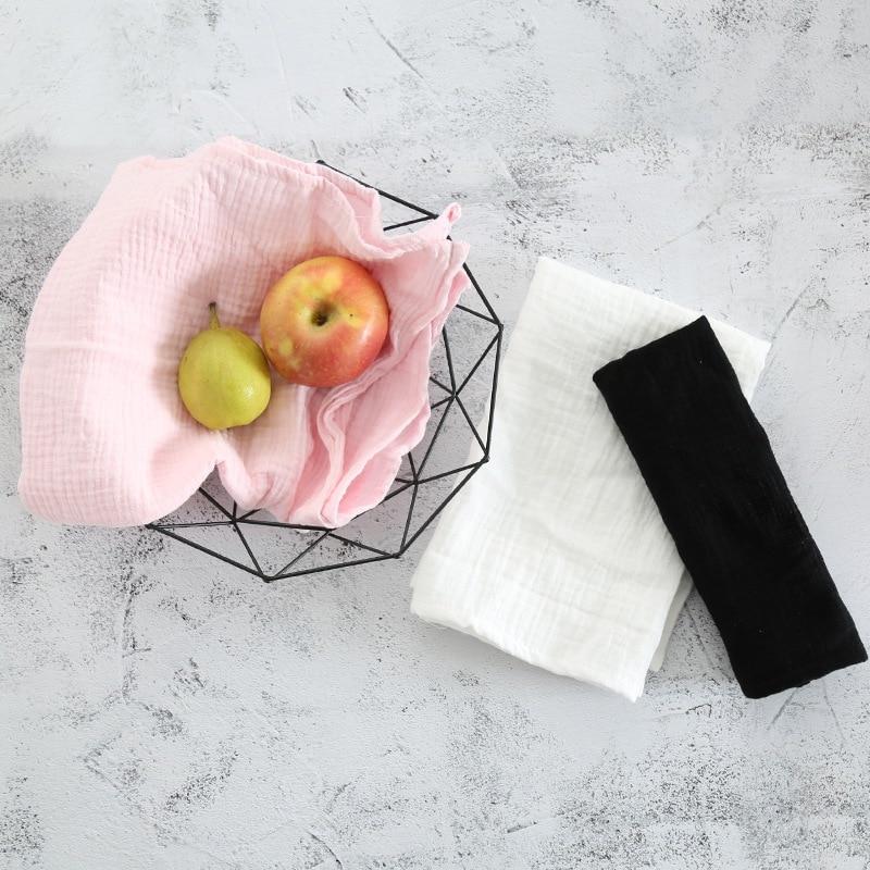 Beschouwend Nieuw Eetkamer Keuken Katoen Tafel Placemats Doek Thee Handdoek Rechthoek Doek Voedsel Foto Achtergrond Effen Mat