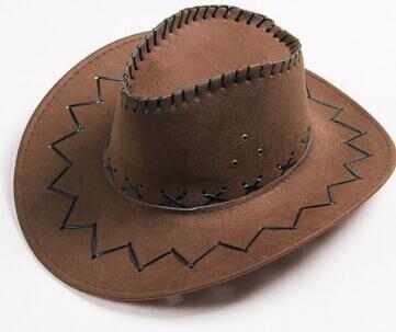 10 unids lote envío gratuito estilo europeo y americano mujer hombre casual sombrero  vaquero adulto unisex sombrero de sol en Sombreros de vaquero de ... c936e169bac