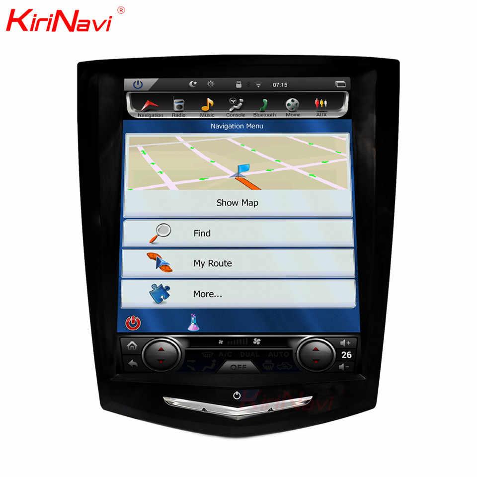 """KiriNavi 10.4 """"タッチディスプレイの Android 6.0 キャデラック Ats ATSL XTS SRX カーラジオ Gps ナビゲーションオーディオマルチメディア再生 2013-2015"""