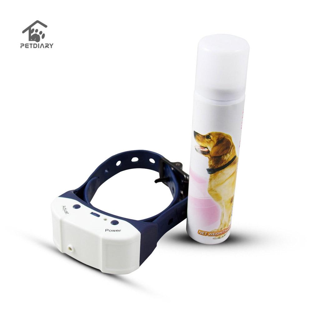 Rechargeable Spray Chien Collier Pet Nature Essentielle de Citron Écorce Contrôle Pas Barking Collier Animaux Formation Outil