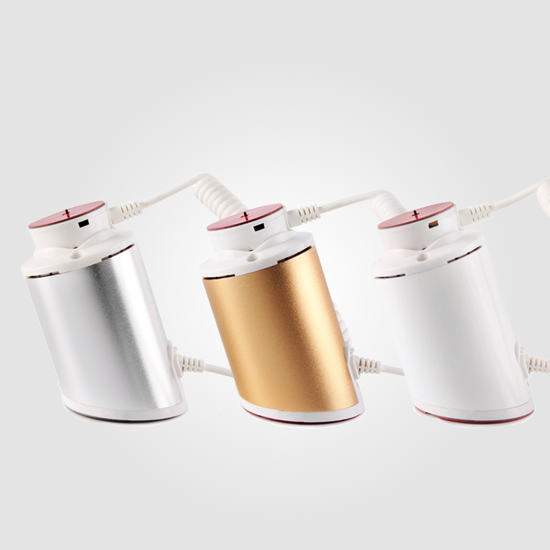 white silvery golden option abs material anti shoplifting rechargeable alarms holder for phone retails store security display hzsecurity am mono system for anti shoplifting in the supermarket or garment stores 58khz