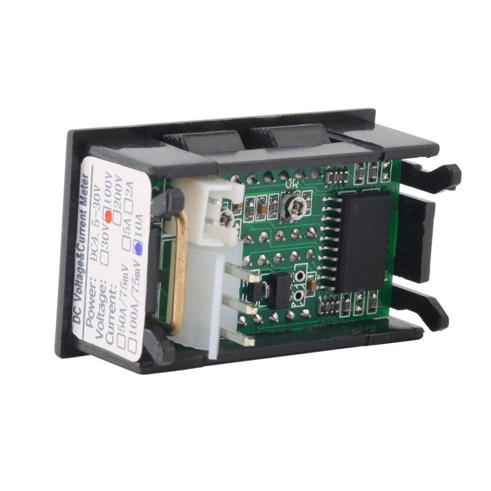 Strumenti di misura amperometro voltmetro DC 100V 10A di alta - Strumenti di misura - Fotografia 4