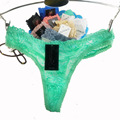 8color Gift full beautiful lace Women's Sexy lingerie Thongs G-string Underwear Panties Briefs Ladies T-back  1pcs/Lot zhx9404