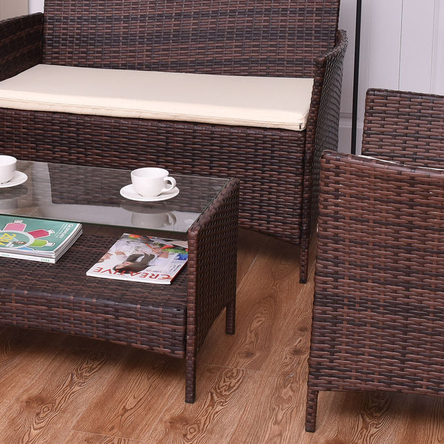 Giantex 4PCS Outdoor Patio Sofa Set  6