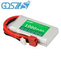 GDSZHS 7.4 V סוללות נטענות 1000 mAh 2 S 25C Lipo סוללה תקע JST T Pluy לrc רכב משאית Truggy RC תחביב