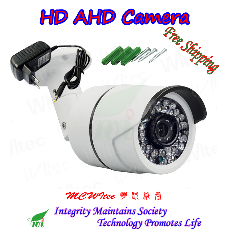 Outdoor AHD Camera HD 2.0/3.0/4.0/5.0 Megapixel Metal firm shell camera CCTV Camera Security IR Night image cameraOutdoor AHD Camera HD 2.0/3.0/4.0/5.0 Megapixel Metal firm shell camera CCTV Camera Security IR Night image camera
