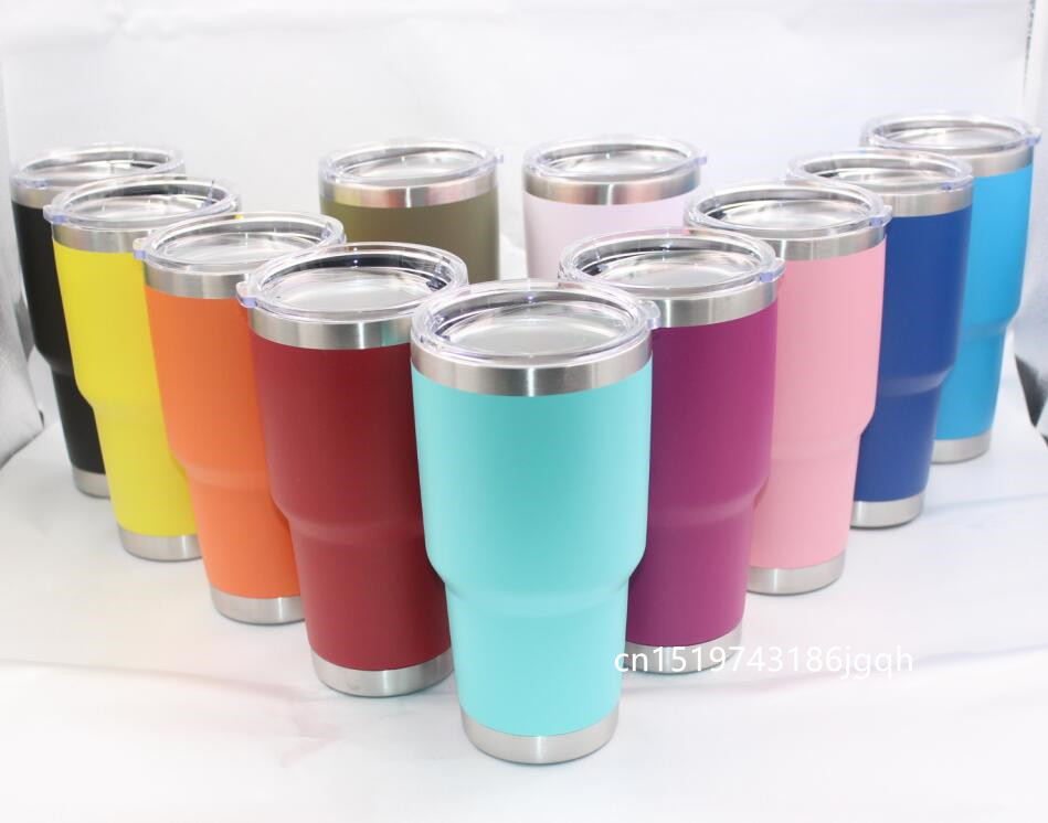 25pcs 30oz 20oz Vacuum Tumbler Stainless Steel Double Wall Vacuum Insulated 10oz Travel Coffee Mug 12oz