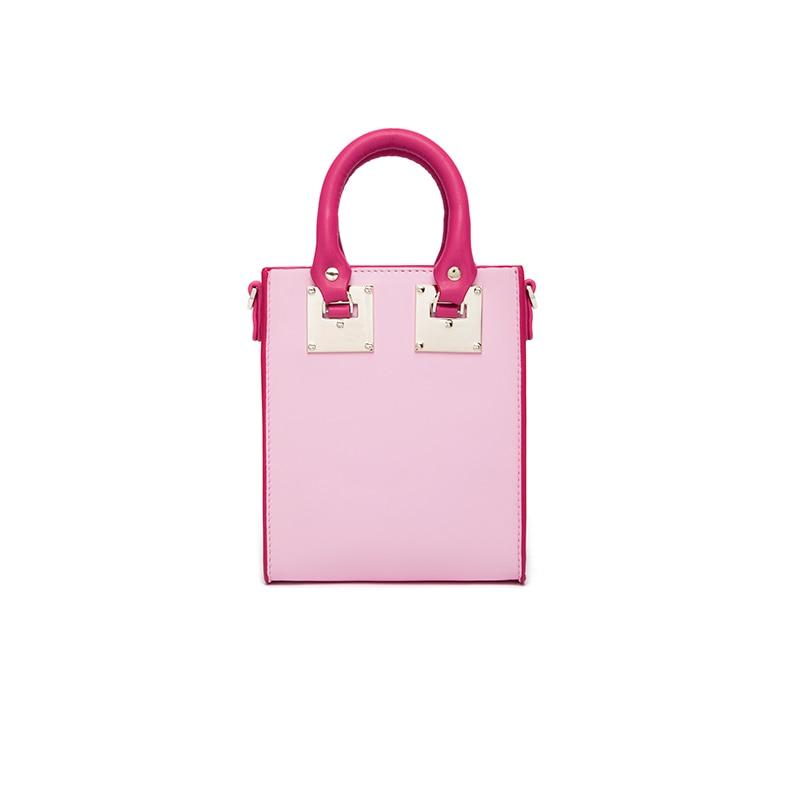 ФОТО 2017 new fashion designer handbags high quality mini bags real cow genuine leather shoulder crossbody solid bag casual tote bag