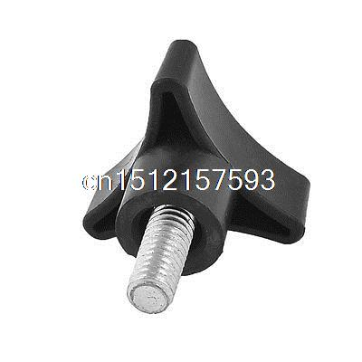 Mechanical Equipment 8mm Male Thread Triangle Clamping Knob