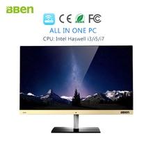 "Bben desktop computer windows10 Intel Core i5-4590 Processor 3.3-3.7GHZ FHD screen 1920x1080 23.8"" 8gb ram 128gb ssd 500GB hdd(China (Mainland))"