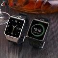 Релох inteligente Bluetooth LG128 Smart Watch поддержка sim-карта TF smartwatch для IOS Apple iphone Android samsung gear s3 xiaomi