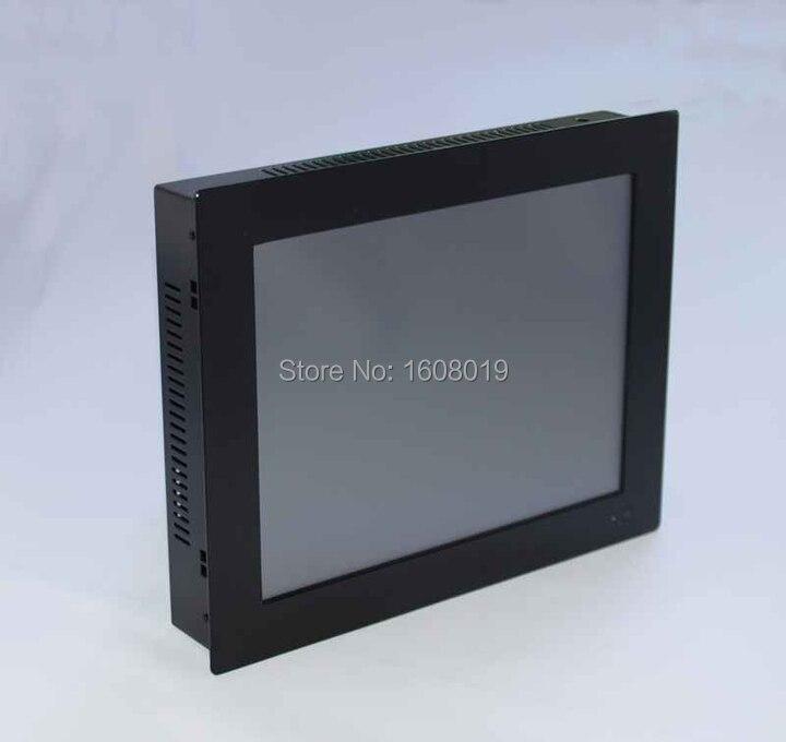 Écran tactile d'ordinateur personnalisé tout en un PC POS Terminal ordinateur pc panneau 2mm avec 2 1000 M Nics 2COM 2G RAM 320G HDD - 6