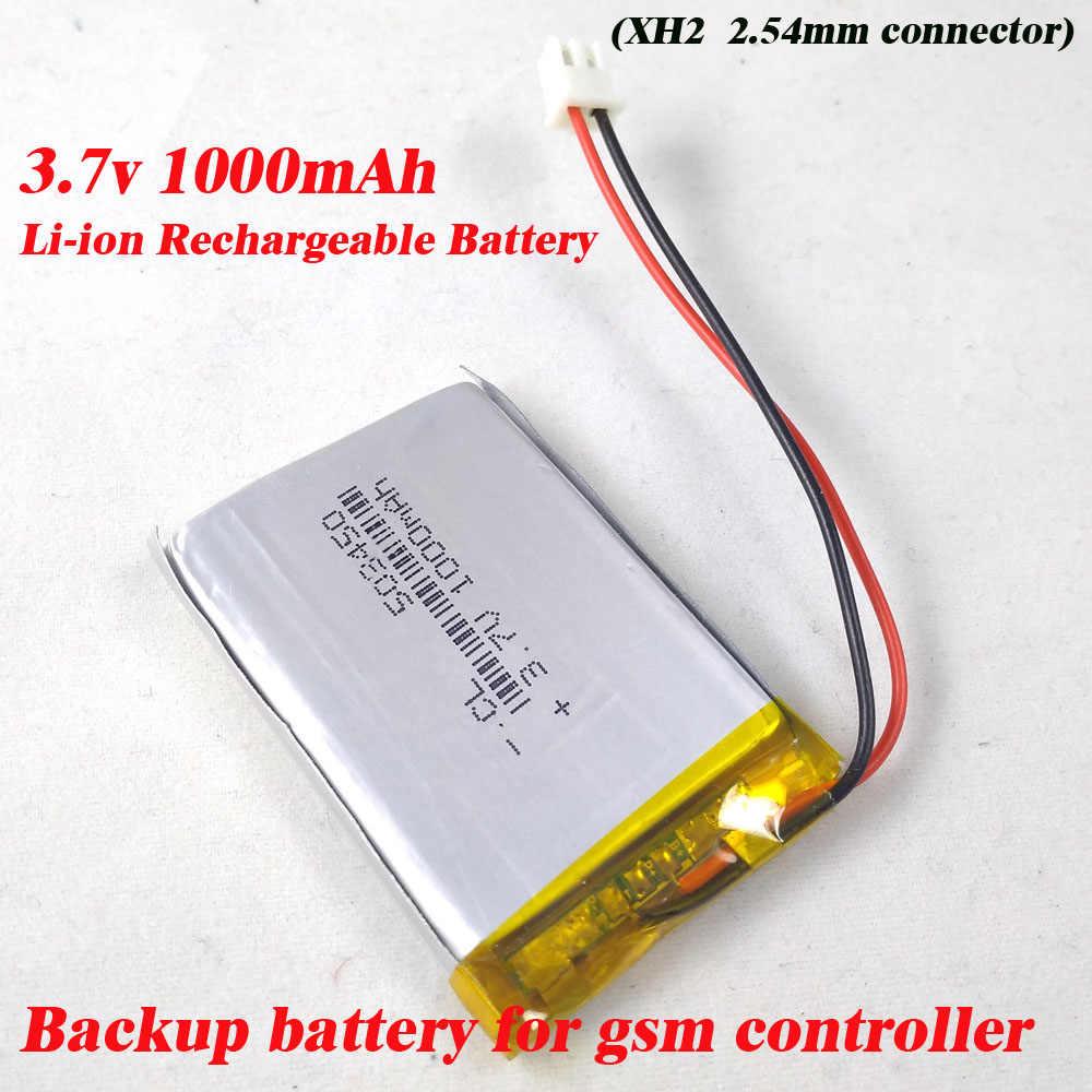 Бесплатная доставка 3,7 V 1000 mAh полимерная батарея li-po батареи PCM аккумуляторная батарея для gsm реле авто контроллеры gsm домофон