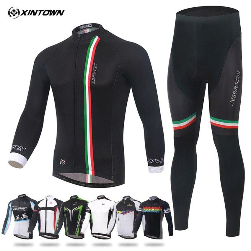 Ensembles de cyclisme Ropa Ciclismo Hombre Invierno Conjunto complet vtt vélo vélo maillot pour femmes hommes vêtements de sport vêtements de cyclisme