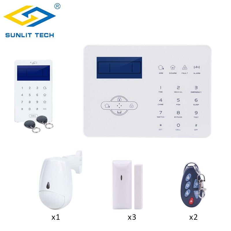ไร้สาย GSM PSTN ชุด DIY IOS Android APP รีโมทคอนโทรล Home Smart Burglar PIR Motion Sensor ประตู/ หน้าต่างเครื่องตรวจจับ-ใน ชุดระบบสัญญาณเตือน จาก การรักษาความปลอดภัยและการป้องกัน บน AliExpress - 11.11_สิบเอ็ด สิบเอ็ดวันคนโสด 1