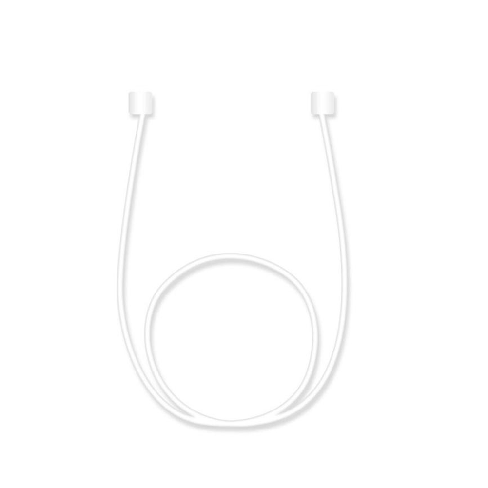Hot Sale Colorful Luminous Anti-Lost Earbuds Cable Cord Strap Loop for Apple Airpods White