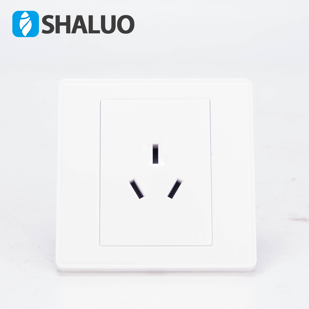 New Home Wall Power Supply Socket Switch Plug Base For Air Conditioner 16A Three Pins Home Wall Socket Australia Style Plug