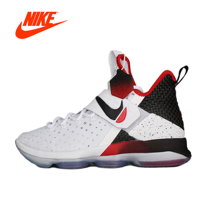 Original New Arrival Authentic NIKE LEBRON XIV EP LBJ14 Men's Breathable Basketball Shoes Sports Sneakers
