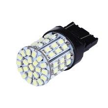 2Pcs Universal Car Brake White Light Bulb Lamp