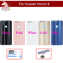 10pcs/lot For Huawei Honor 8 Battery Cover Back Housing Rear Door Case Honor8 Panel Replacement