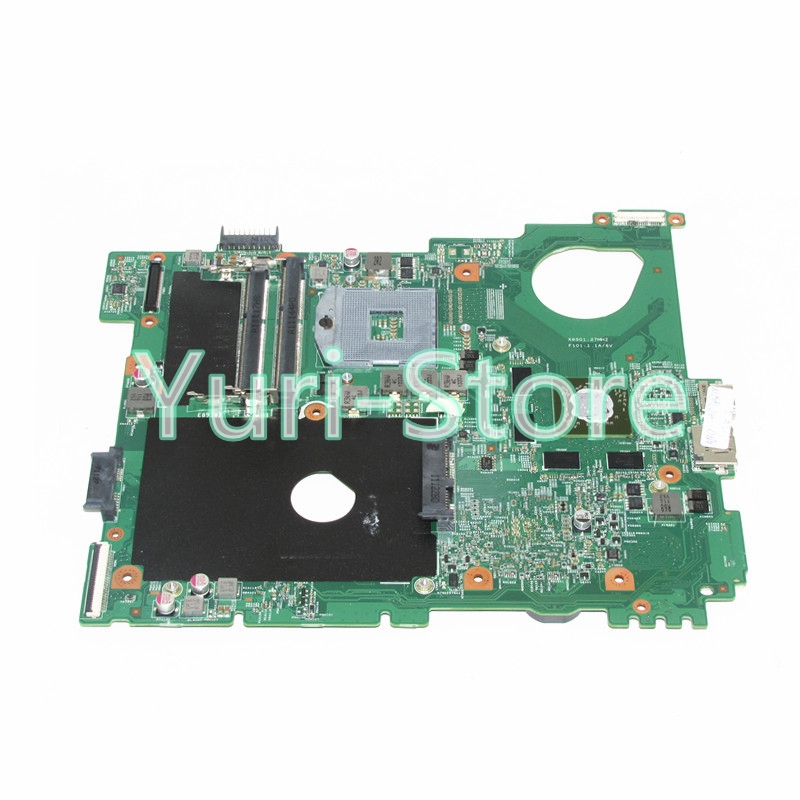 NOKOTION CN-0F3GY0 F3GY0 For Dell Vostro 3550 laptop MotherBoard with Graphics Card HM67 s988B nokotion laptop motherboard for dell vostro 3500 cn 0w79x4 0w79x4 w79x4 main board hm57 ddr3 geforce gt310m discrete graphics