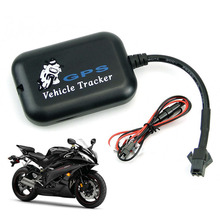 Wholesale Mini Motorcycle Bike Vehicle Car GPS Tracker anti theft system watch LBS+SMS/GPRS GSM Alarm