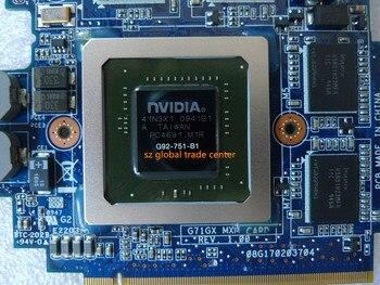 for ASUS G71G G71GX G72GX VGA Video PN 69N0FHV11B02-01 GTX 260M GTX260M G92-751-B1 60-NVZVG1000-A02 DDR3 1GB MXM VGA/ Video Card