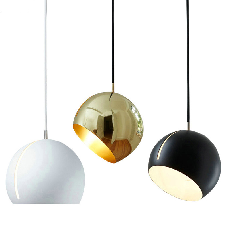 Modern Globe Pendant Lamp Nordic Post Hanging Lights Bedroom Droplight iron Ball pendant lighting for restaurants E27 LampsModern Globe Pendant Lamp Nordic Post Hanging Lights Bedroom Droplight iron Ball pendant lighting for restaurants E27 Lamps