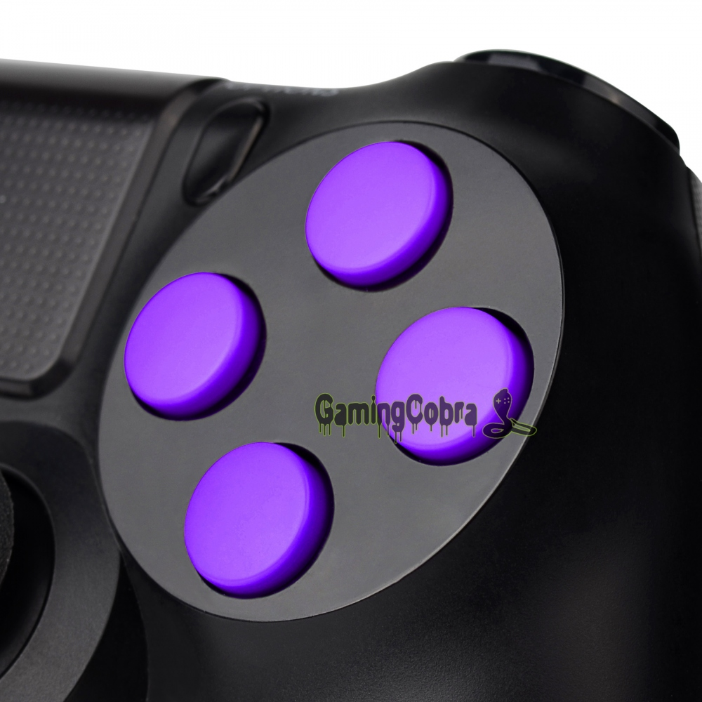 Solid Red Green Orange Yellow Pink Purple Blue Black Action Buttons Repair for Dualshock 4 PS4 Controller