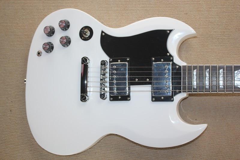 Custom Guitarras Handed Branco 400 Guitarra Eletrica 22 trastes Guitarra Frete gratis At ...
