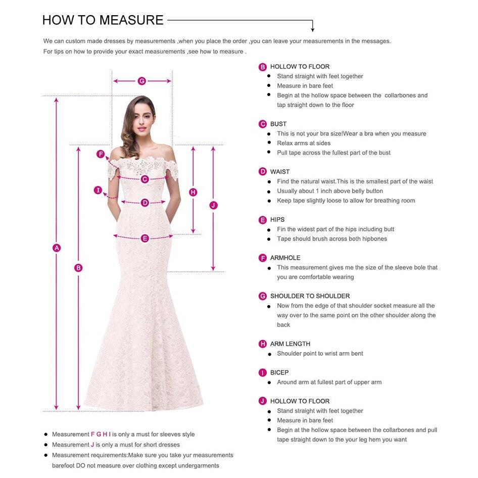 2019 demoiselles d'honneur robes en mousseline de soie dentelle épaule dénudée avec manches perlées dos nu pas cher Evenin robe de bal pour mariage - 3