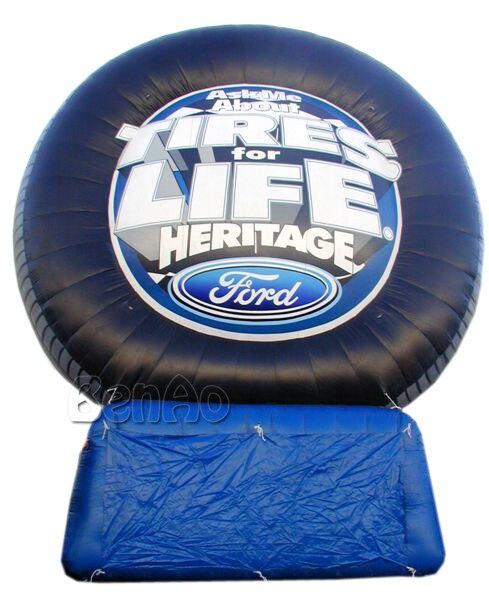 Z145 наиболее популярные рекламные надувные шины модели, надувной шар шин для увеличения шин с воздуходувки для продажи