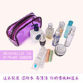 Portable Transparent Waterproof Makeup Make up Cosmetic Bag Toiletry Bathing Pouch big capacity neceser de viaje organizador