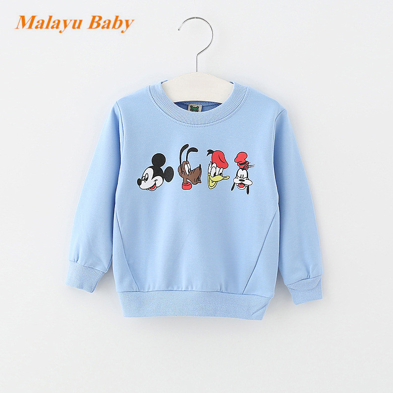 Malayu-Baby-2017-Autumn-Infant-Cotton-Cartoon-Sweater-Baby-Boy-Girl-Donald-Duck-Mimi-Print-Long-Sleeve-Fashion-0-2-years-baby-1