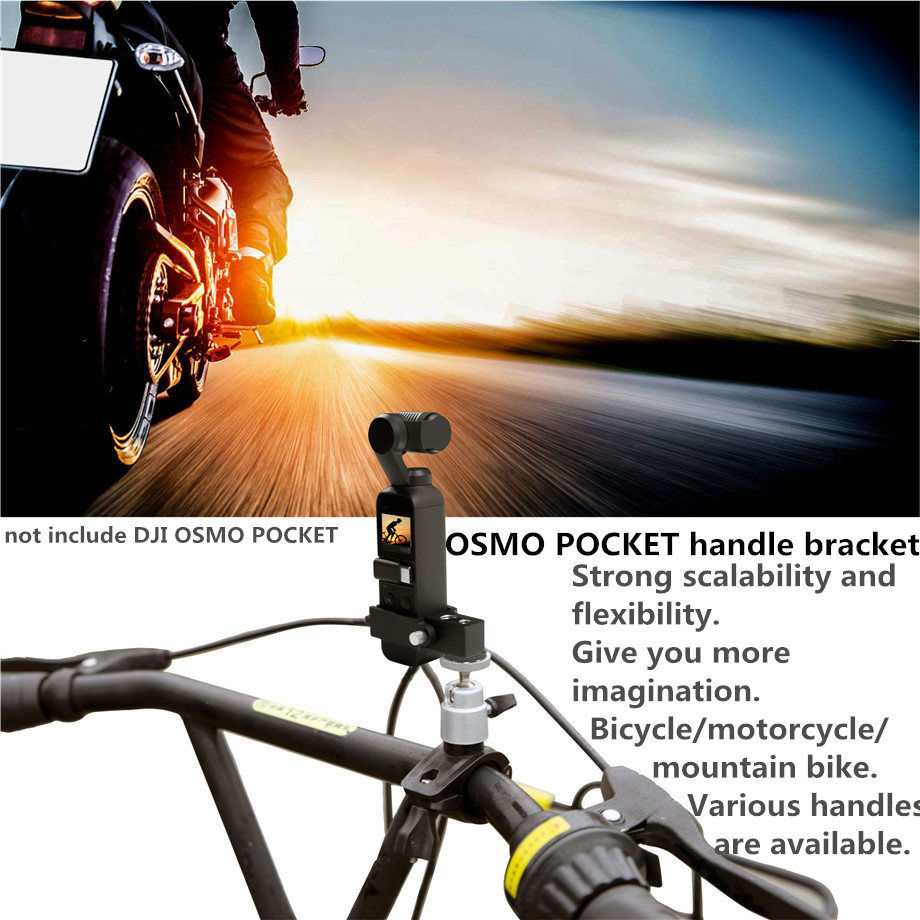 For DJI Osmo Pocket Accessory Set Mount Bracket Gimbal Extension Module Holder Parts Holder 6