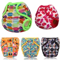 JinoBaby Cloth Diapers Baby Couche Lavable Training Pants One Size For NB To 18KGS Bamboo Insert