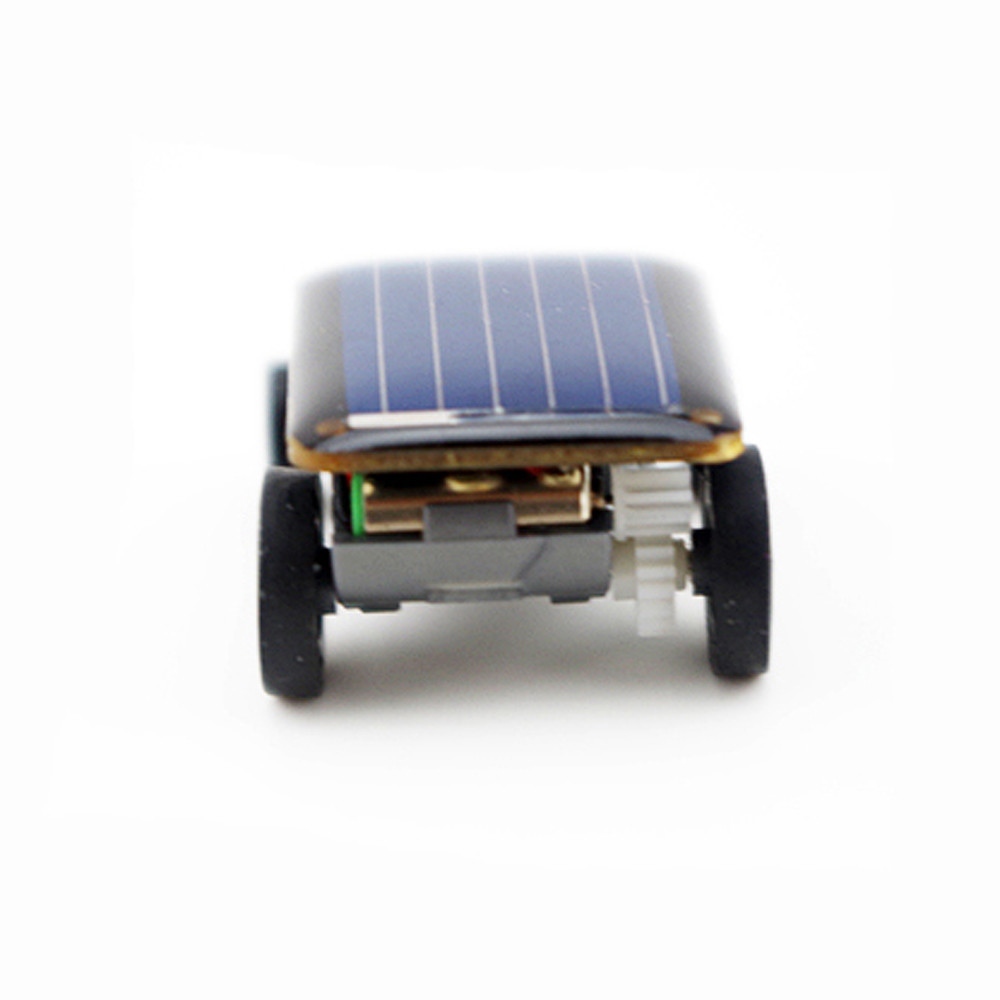 Smallest Mini Solar Power Toy Car 11
