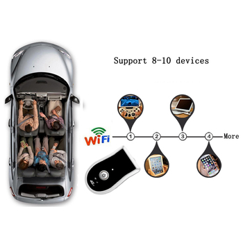 4G Car Wifi Router CarFi Modem Mini Broadband Wifi Hotspot with 5V/1A Cigarette lighter USB Charger with USB Output