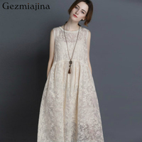 2019 Summer maternity clothes Pregnancy dress New fashion Embroidered silk organza thin dress with no sleeveless vest Loose