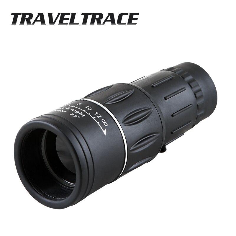 16X52 Upgrade Monocular-teleskop Outdoor Camping Okular Handheld Teleskop für Smartphone Ziel Lensmilitary tragbare
