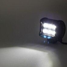 CO LUCE Una Coppia da 4 pollici 18 W 12 V LED Daytime Running luce di Indicatore Car Light Bar per Auto Moto Guida Offroad trattore