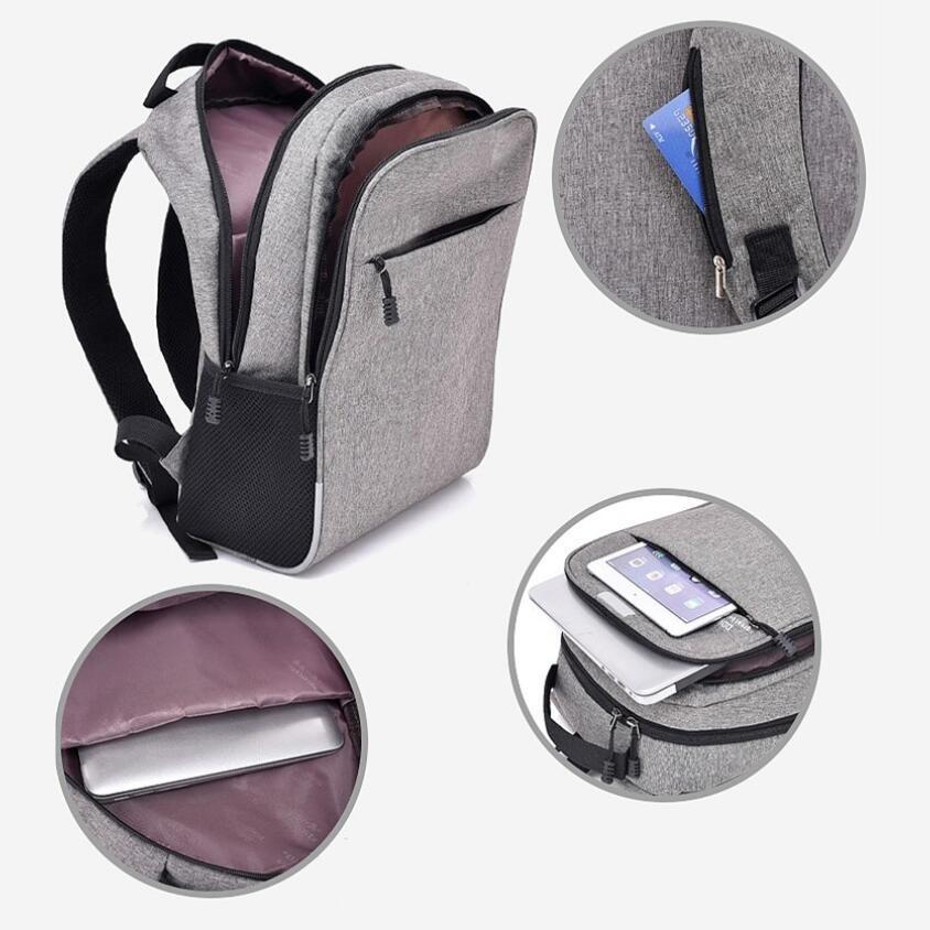 10485ad1f0e FengDong men smart backpack anti theft password lock back shoulder bag male  business laptop backpack usb port boy travel bag-in Backpacks from Luggage  ...