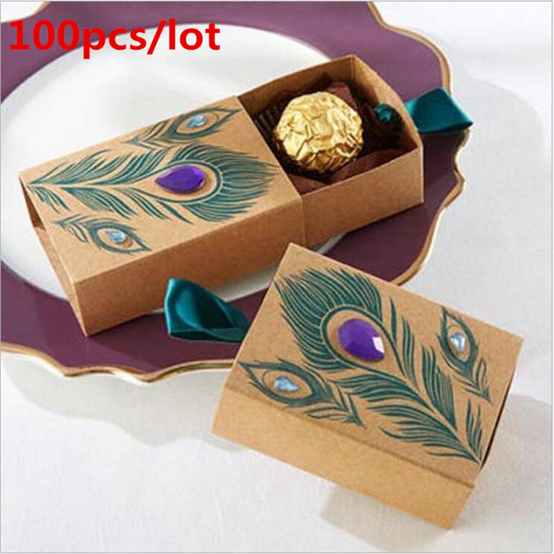 Peacock Wedding Gifts: Online Get Cheap Peacock Gift Box -Aliexpress.com