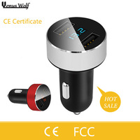 100 Genuine Brand Universal 2 Port Car Charger USB Car Charger Plug Adapter For Huawei For