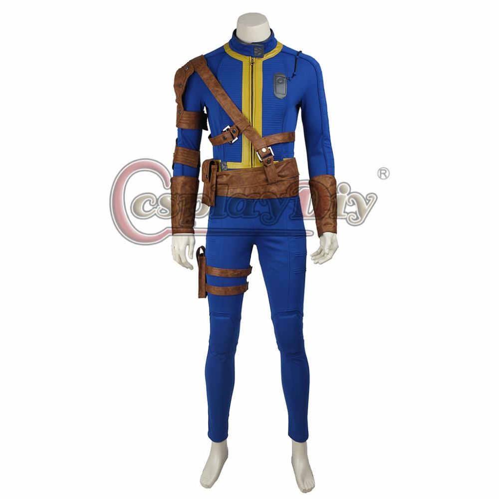 cosplaydiy game fallout 4 male sole survivor nate cosplay costume adult men halloween carnival outfit custom made