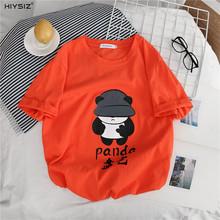HIYSZI NEW T-Shirt Men 2019 O-Neck Fashion Trend Casual Streetwear Print Short Sleeves Loose Pullover for lovers Summer ST271